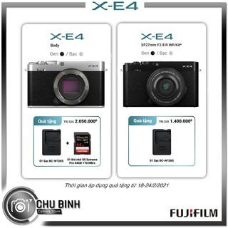 Máy Ảnh Fujifilm X-E4 ( Body / Kit 27mm )   Chính Hãng   Bảo Hành Toàn Quốc 24 Tháng