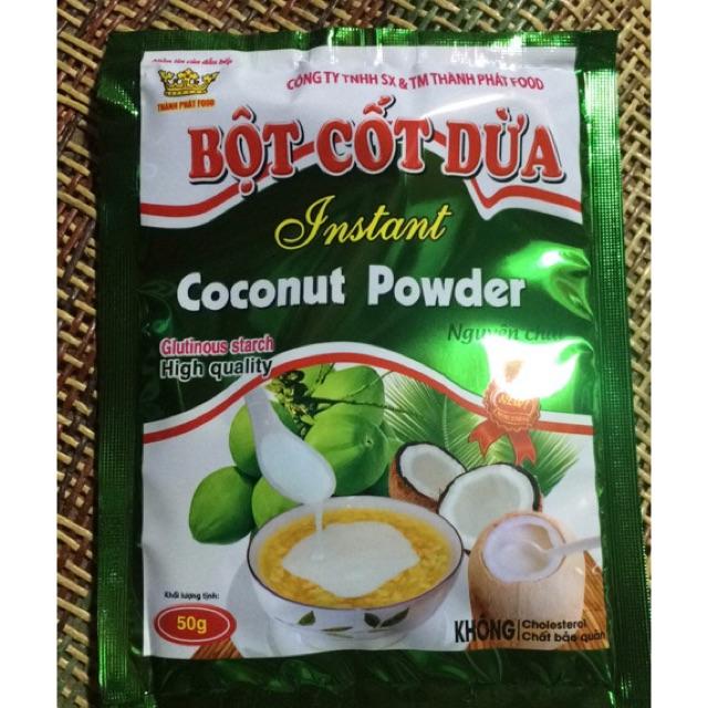 Combo 10 gói bột cốt dừa