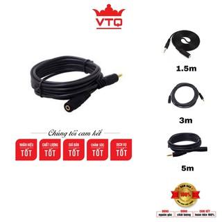 Dây nối dài dây loa jack 3.5 chiều dài 1.5m, 3m, 5m hàng chất lượng giá tốt.shopphukienvtq