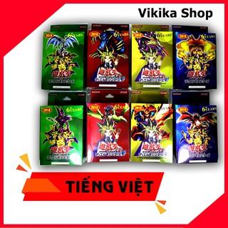 10 bộ yugioh card Tiếng Việt