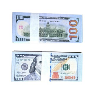 50pcs or 100pcs/pack Simulation dollar bills props funny toy gift