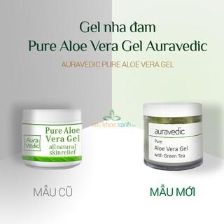Gel lô hội Auravedic Pure Aloe Vera Gel 100ml - Date 04.2021 thumbnail