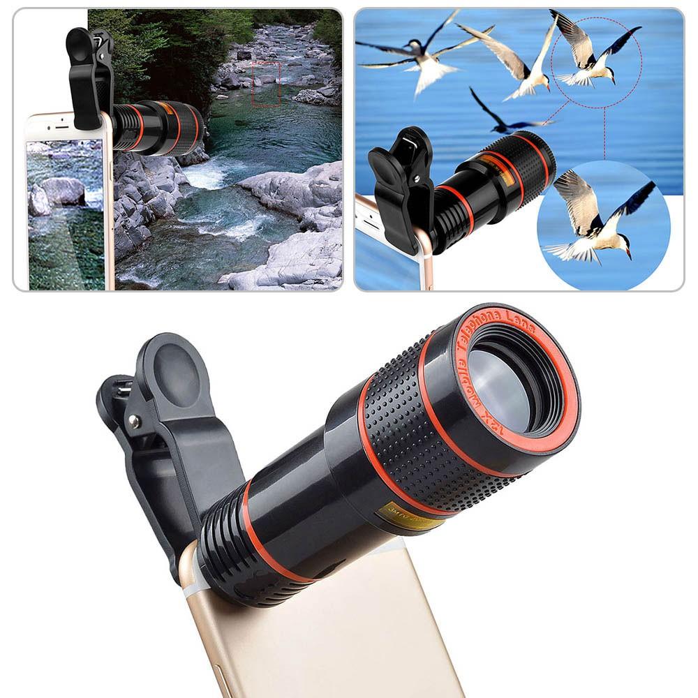 [RẺ VÔ ĐỊCH] Bộ lens zoom 14X telephoto ống kính đa năng cho mọi smartphone
