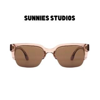 Kính mát Sunnies Studios Gọng Vuông Numan in Nougat thumbnail