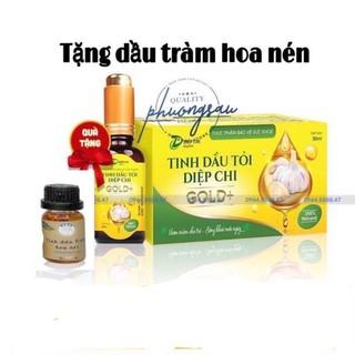 Dầu tỏi Diệp Chi Gold + tặng dầu tràm thumbnail