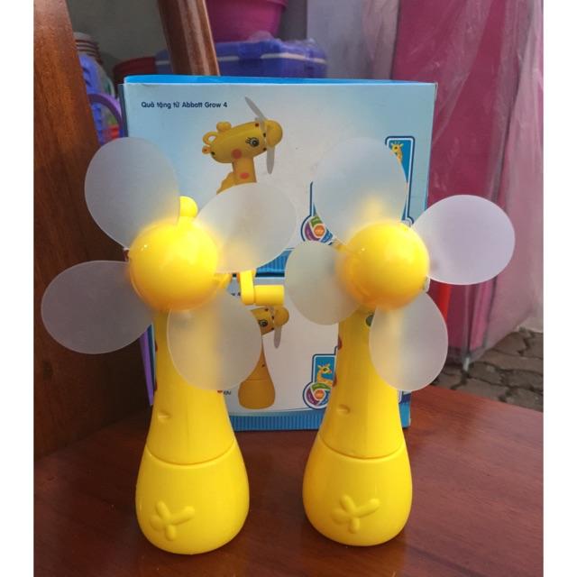 combo 2 em quạt đồ chơi hươu grow abbott