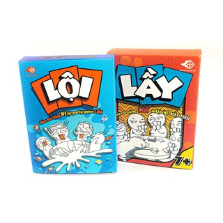 Thẻ bài Lầy Lội - bộ Party game siêu vui, siêu lầy - Trò chơi giải trí cho nhóm bạn trẻ - Boardgame VN