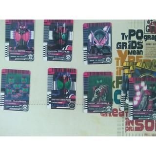 Card Kamen Rider Full Decade và 1 thẻ Zi-O