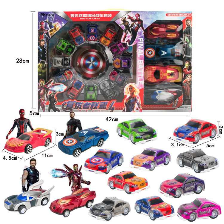 Đồ chơi bộ xe siêu nhân Aveger- Siêu xe Avenger - Bộ xe Avenger Jika Store