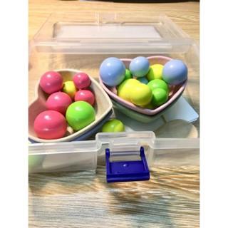 Bộ gắp hạt Gỗ kèm thẻ số đếm Montessori DC45