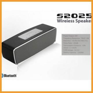 [chất lượng] Loa cầm tay bluetooth nghe nhạc usb thẻ nhớ S2025 bass đập cực ấm – chính hãng – BH 6 tháng