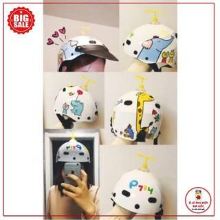 Chong Chóng Tre Doraemon Gắn Xe, Mũ Bảo Hiểm, HOT TREND [Good]