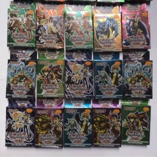 Combo 10 bộ bài magic giấy Yugi Oh