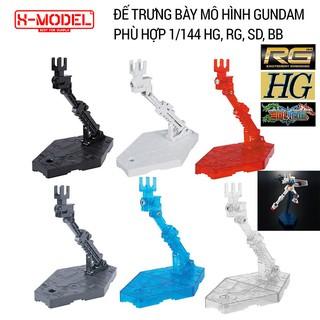 Đế trưng bày đồ chơi mô hình Gundam X MODEL Action Base cho Mô Hình Gundam BANDAI 1 144 SD, BB, HG, RG thumbnail
