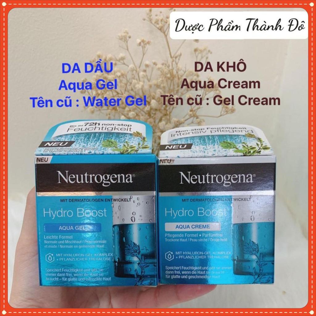 Kem dưỡng Neutrogena Water Gel - Gel Cream -Water-gel (da dầu)