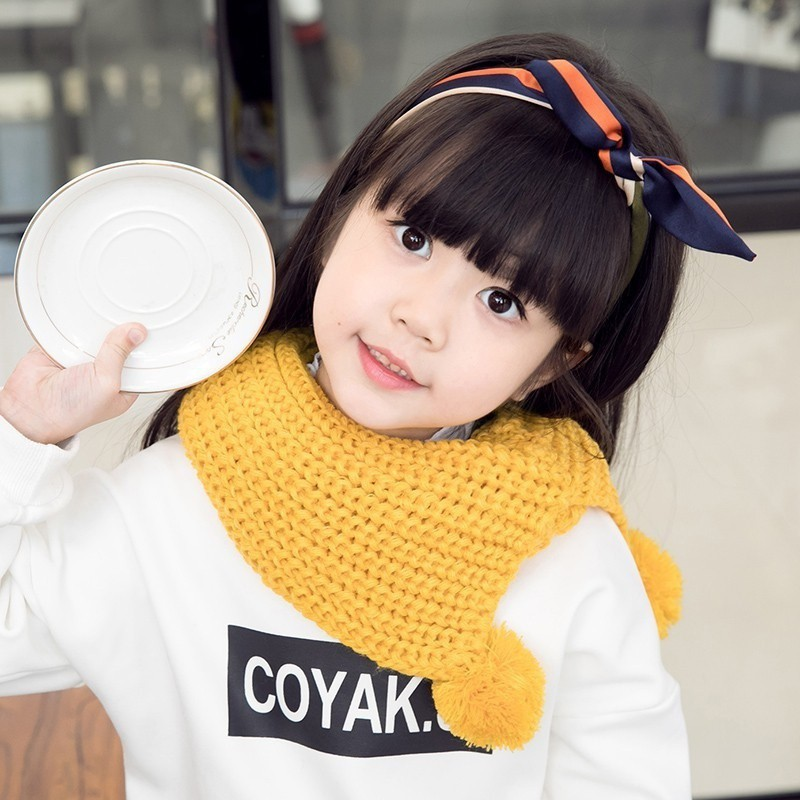 Wool knitted round neck for baby