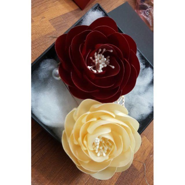 Combo 2 hoa cài áo
