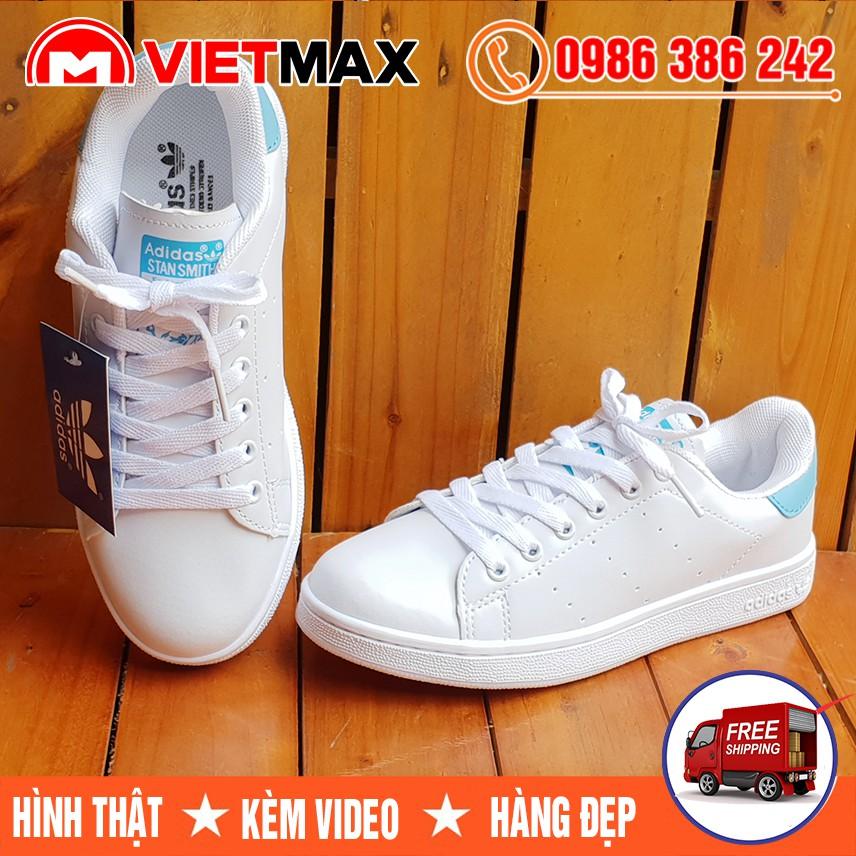 ⚡[FREE SHIP] Giày Adidas Stan Smith Gót Xanh Ngọc Hàng Việt Nam