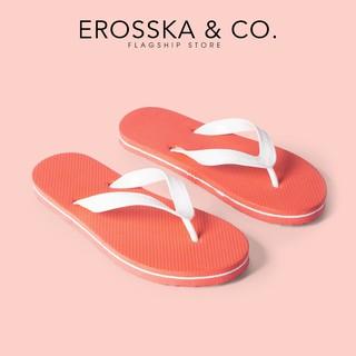 Dép xỏ ngón in hoạ tiết thời trang Erosska nhiều màu - DK017