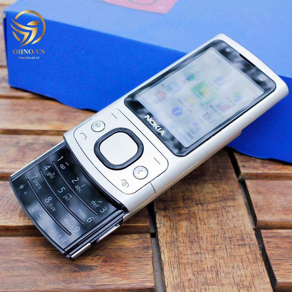 Điện Thoại Nokia Nắp Trượt Nokia 6700 Slide Main Zin Chính Hãng - Điện Thoại Trượt Nắp Nokia 6700s - OHNO Việt Nam