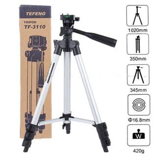 [Hàng Mới] Tripod chụp ảnh 3 chân kéo dài 3110 tương thích với nhiều dòng máy tặng kèm đầu kẹp điện thoại thumbnail