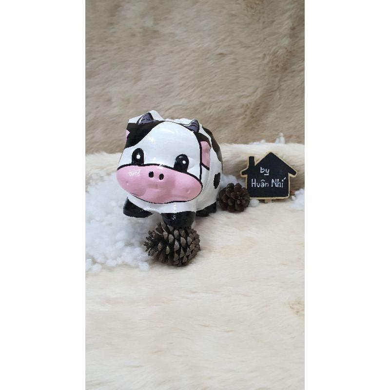 Heo đất handmade - bò sữa