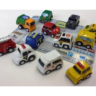 [Rẻ Vô Địch] Freeship 99k – Bộ 6 chiếc ô tô đồ chơi, ô tô mô hình ngộ nghĩnh (1 set)