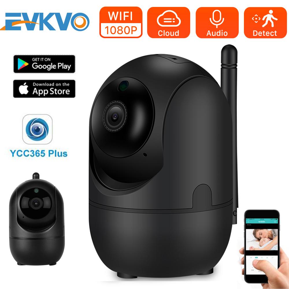 Camera IP Không Dây EVKVO YCC365 PLUS, Camera An Ninh, Đám Mây HD 1080P CCTV Mini Có Mạng Wifi-SKU-EVKVO-va