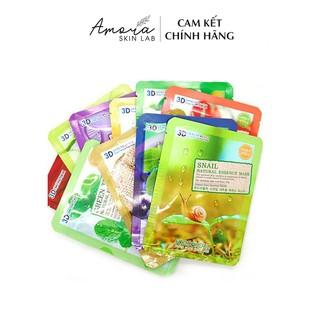 Mặt Nạ Hàn Quốc Dưỡng Da 3D Foodaholic Natural Essence Mask (23g) - Amora Skinlab thumbnail