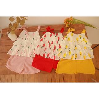 Váy trẻ em 2 dây mùa hè cực dễ thương thumbnail
