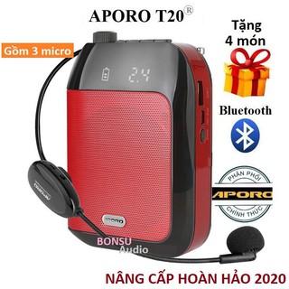 Máy trợ giảng Aporo T20 2.4G bluetooth, T20 UHF bluetooth chính hãng thumbnail