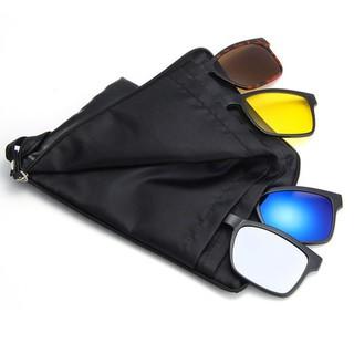 [Khuyến Mãi] Mắt kính đa tròng thay đổi 5 in 1 kèm bao da thời trang – batilaco
