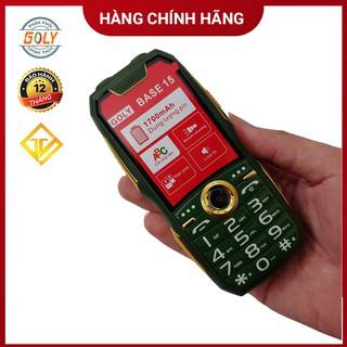 Điện thoại Goly base 15 Black Phím số to, Loa lớn , Pin Trâu - Hàng chính hãng thumbnail