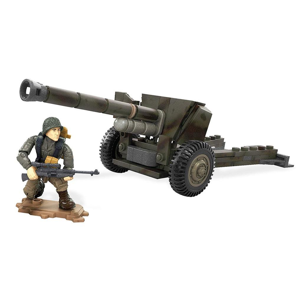Đồ chơi mô hình nhân vật Call Of Duty Anti-Tank Gun Mega Construx