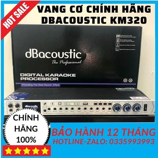 Vang cơ chính hãng DBACOUSTIC KM320, vang cơ dbacoustic km320, tặng 2 dây canon kết nối, thiết bị âm thanh karaoke. thumbnail