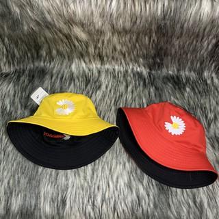 Nón Bucket / Mũ Vành Tròn 2 Mặt Hoa Cúc Rụng Cánh Siêu Hot N036 [Ảnh Tự Chụp]