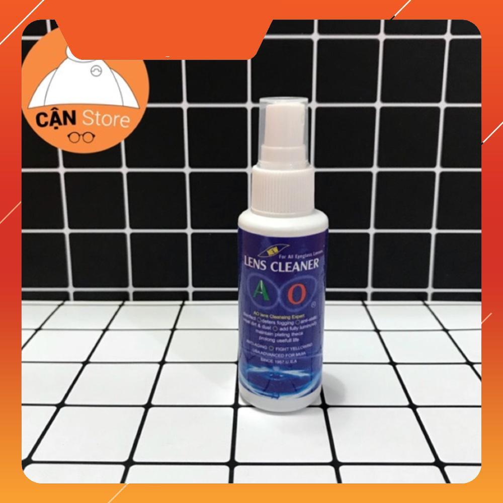 [Giá cực sốc] Nước rửa mắt kính chuyên dụng Lens Cleaner (tặng kèm 1 khăn lau kính)
