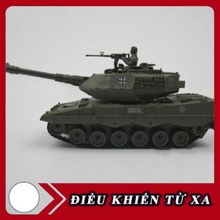 [MÃ CHOI5K GIẢM 5K] Xe Tăng Đức Leopard 2 Điều Khiển Bánh Xích Pin Sạc YH4101F3