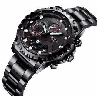 Đồng hồ nam dây thép đặc 6 kim cao cấp Nibosi 2322 (fullbox, bảo hành 12 tháng) thumbnail