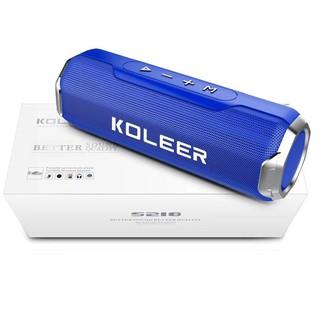 Loa bluetooth KOLEER S218 công suất 10W bass cực mạnh siêu hay - hỗ trợ thẻ nhớ/USB/AUX/FM (Màu ngẫu nhiên)