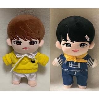 [Có sẵn] Doll Woojin 20cm (AB6IX) fullset Dòng Dutniz 2ver đen và nâu đậm.Tặng thêm outfit