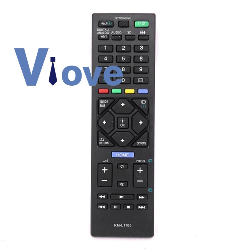 Universal Remote Control Rm-L1185 For Sony Tv Kdl-32R420A