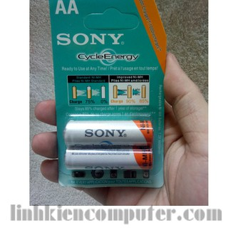 Cặp Pin sạc sony AA | Bộ pin sạc Sony 2A (AA)