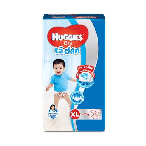 Tã dán Huggies size L 20 miếng (trẻ từ 8 - 13 kg)