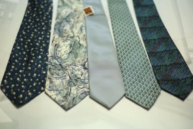 Cà vạt nam hoạ tiết hàng Nhật 2hand