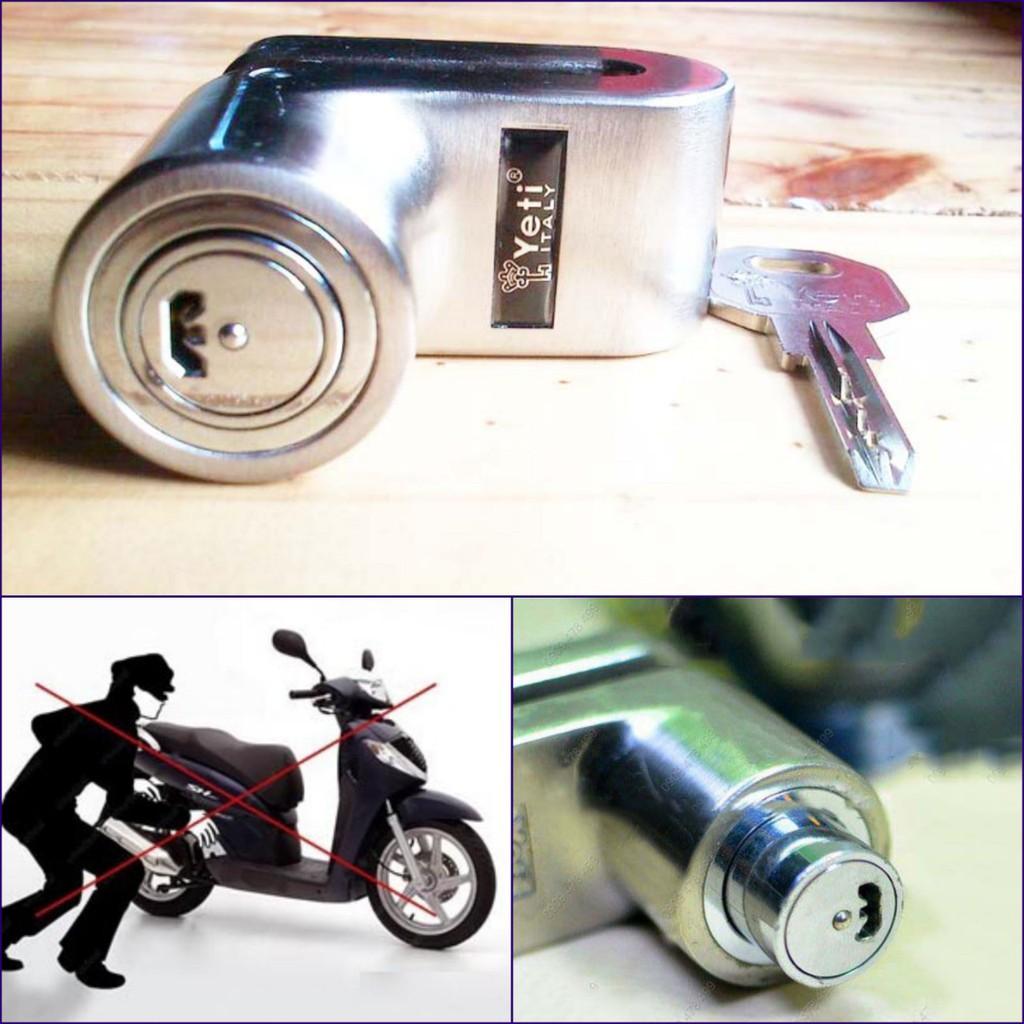 Khóa phanh đĩa xe máy Yeti