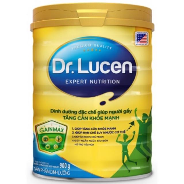 Sữa Dr. Lucen GainMax giúp người gầy tăng cân khỏe mạnh loại 900g (Date 2021)