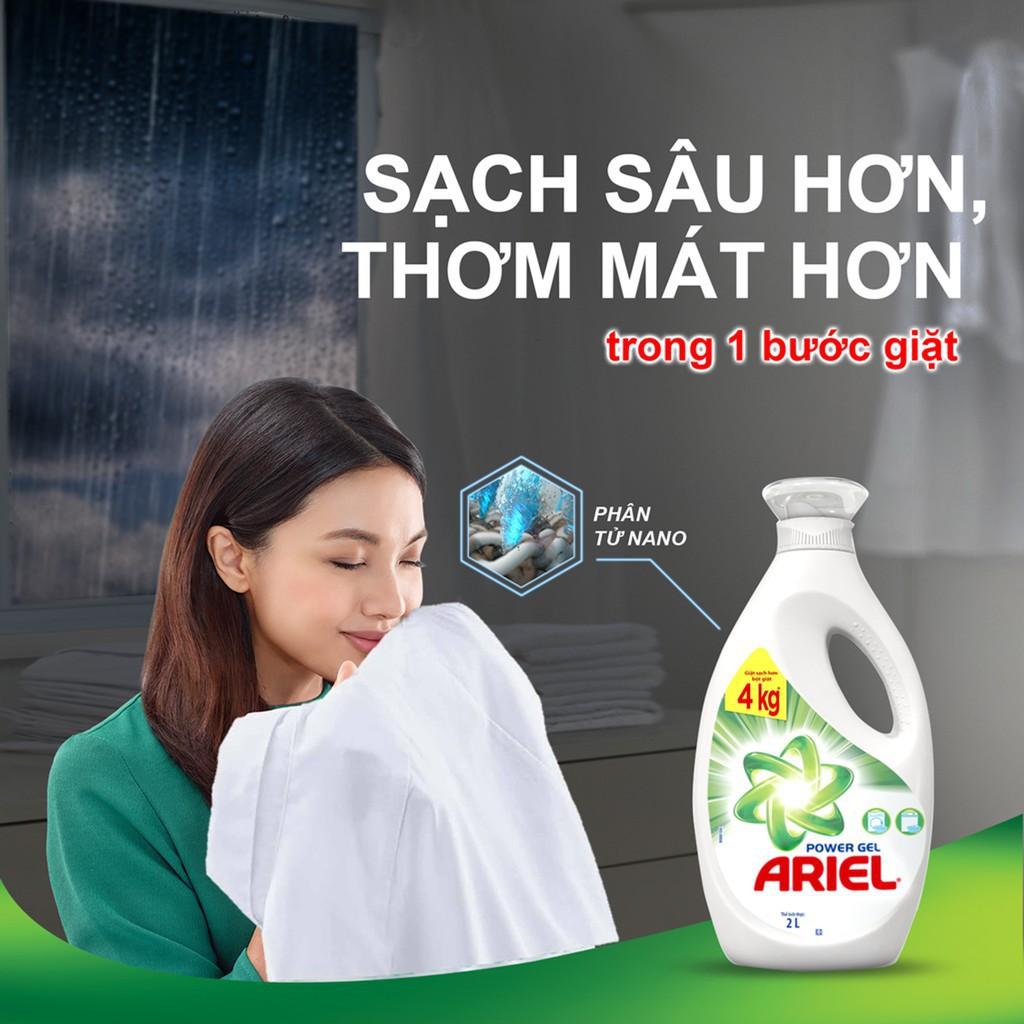 Hình ảnh [HCPGSBD - 15% tối đa 50K đơn 199K ]Ariel Matic nước giặt Túi 2.4Kg-1