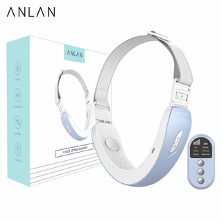 ANLAN V-Face Lifting Device EMS Massage Chin V-shaped Red Blue Light Therapy Facial Slimming thumbnail