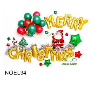 Yêu ThíchSét Phụ Kiện Trang Trí Chủ Đề Noel Giáng Sinh Christmas